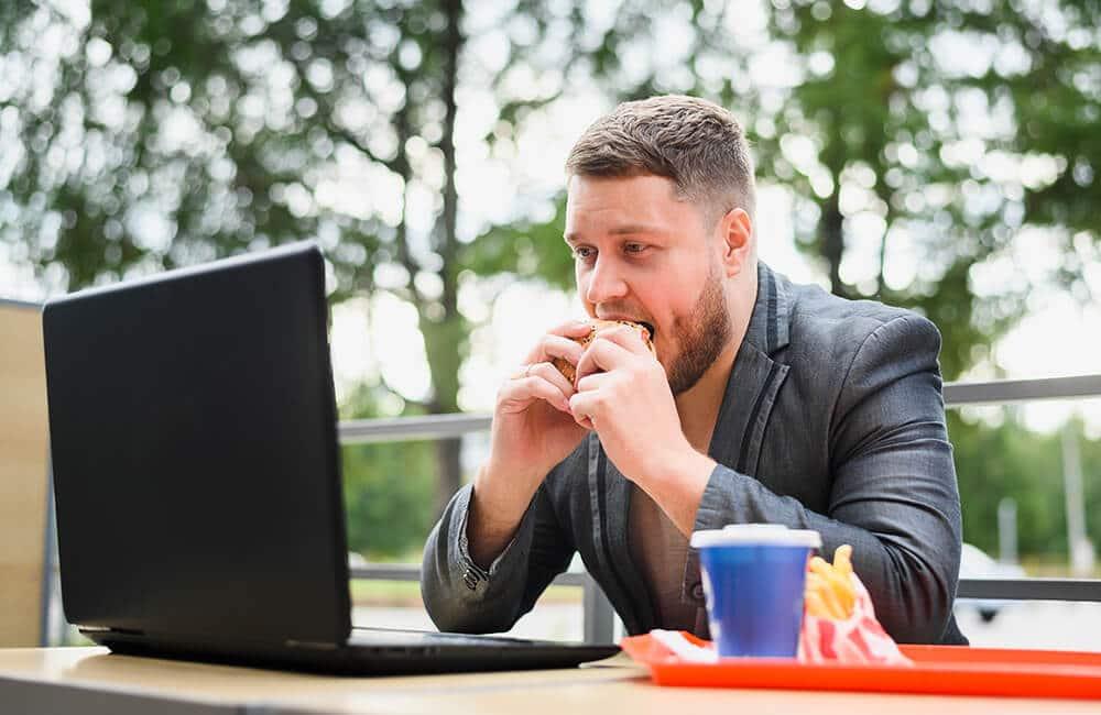 FibreFirst - Suplemen Serat Premium Detox Harian - Ingin makan padahal tidak lapar, Mungkin kamu mengalami stress eating