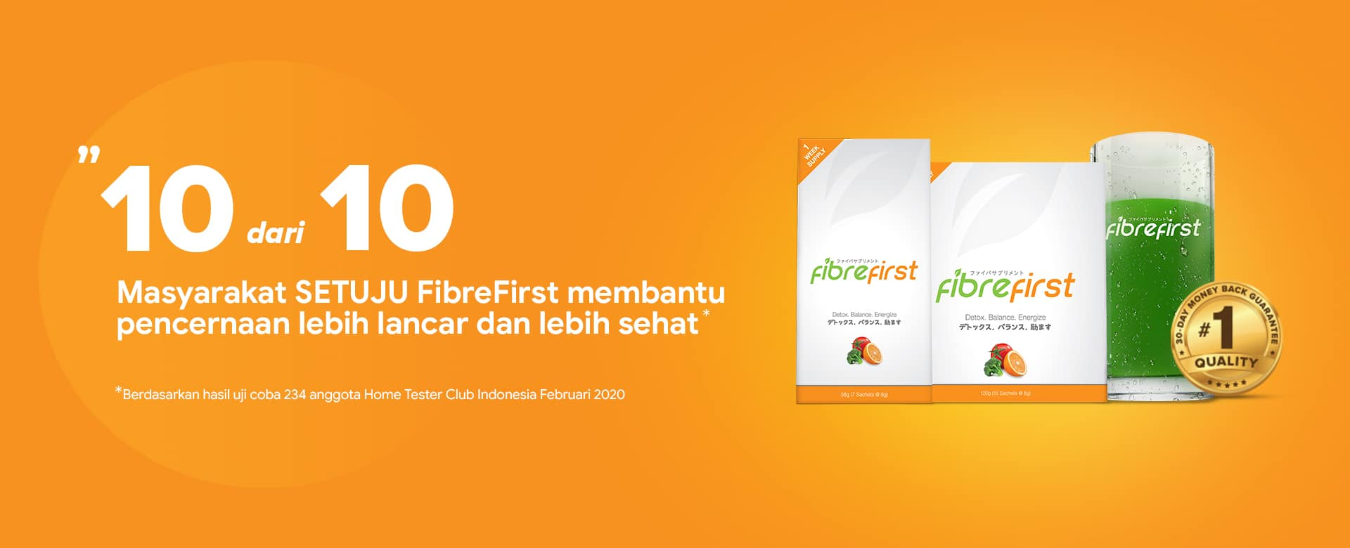 FibreFirst - Home Tester Review