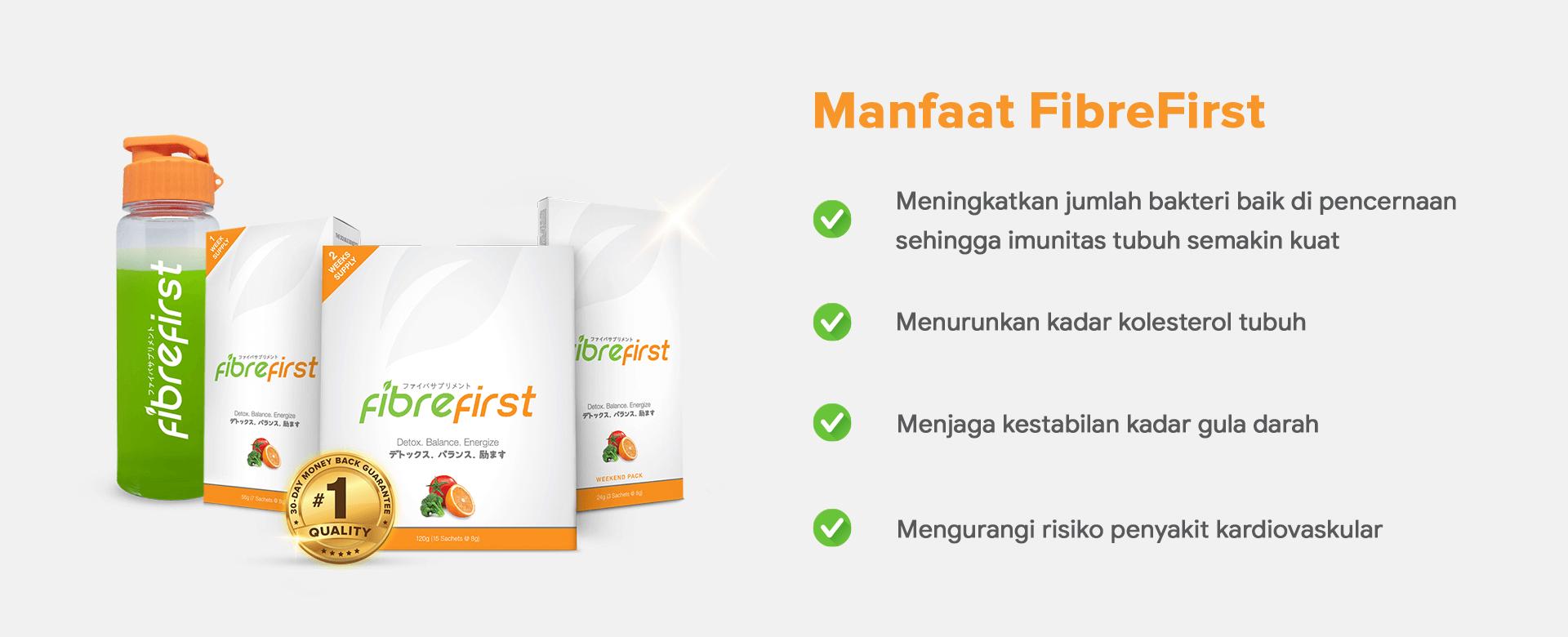 Manfaat FibreFirst