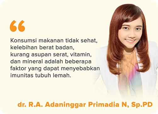 dr. R.A. Adaninggar Primadia N, Sp.PD