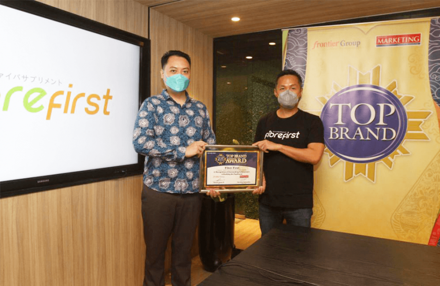 FibreFirst Raih Top Brand Award 2021 Kategori Healthy Diet Supplement
