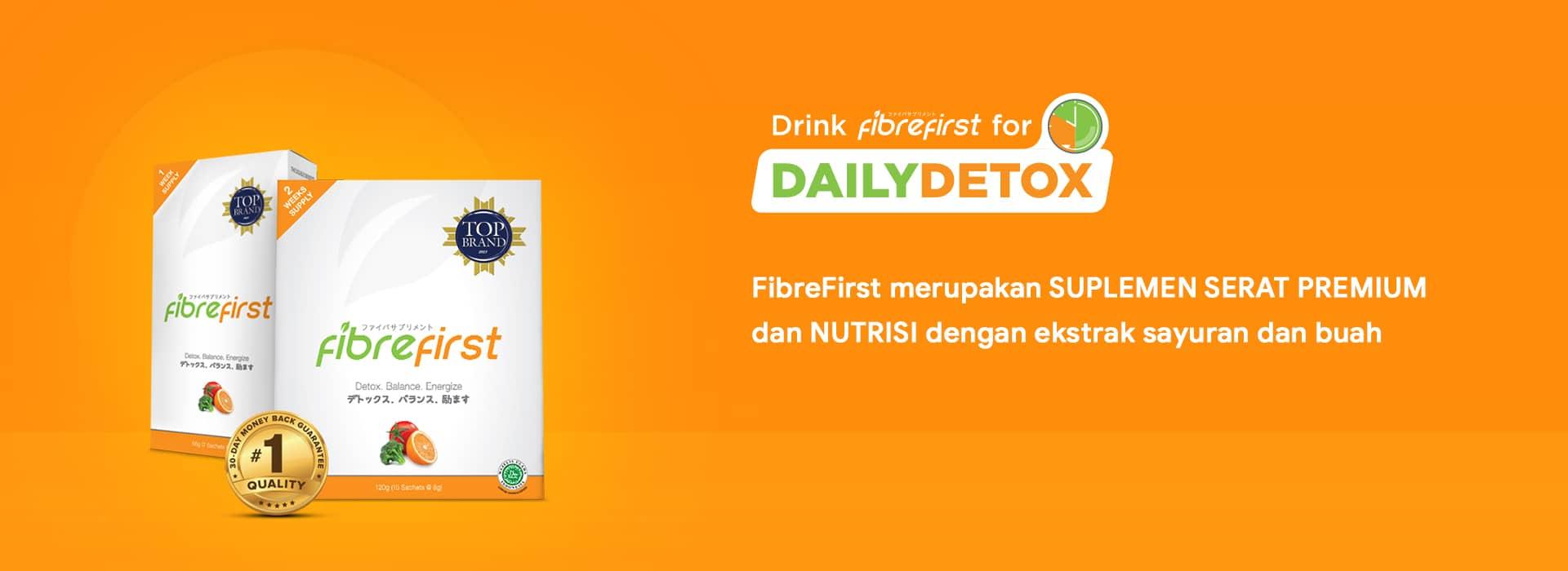 FibreFirst Merupakan Suplemen Serat Premium